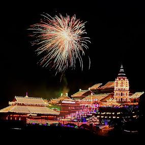 Kek Lok Si Temple by Paramasivam Tharumalingam - Abstract Fire & Fireworks (  )