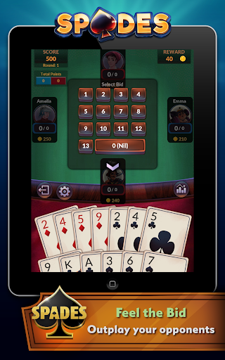 Spades - Offline Free Card Games modavailable screenshots 8