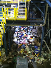 Photo: Piles of Trash for Recycling