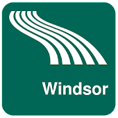 Windsor Map offline