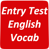 Entry Test English VOCAB