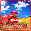Harvesting 3D Farm Sim icon