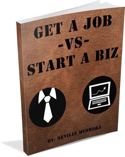 Get A Job vs Start A Business ? :: Kopywriting Kourse