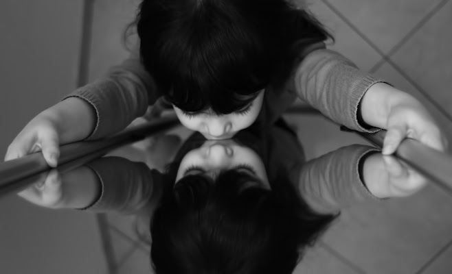 Ragazza allo specchio - Picasso di ricktwice