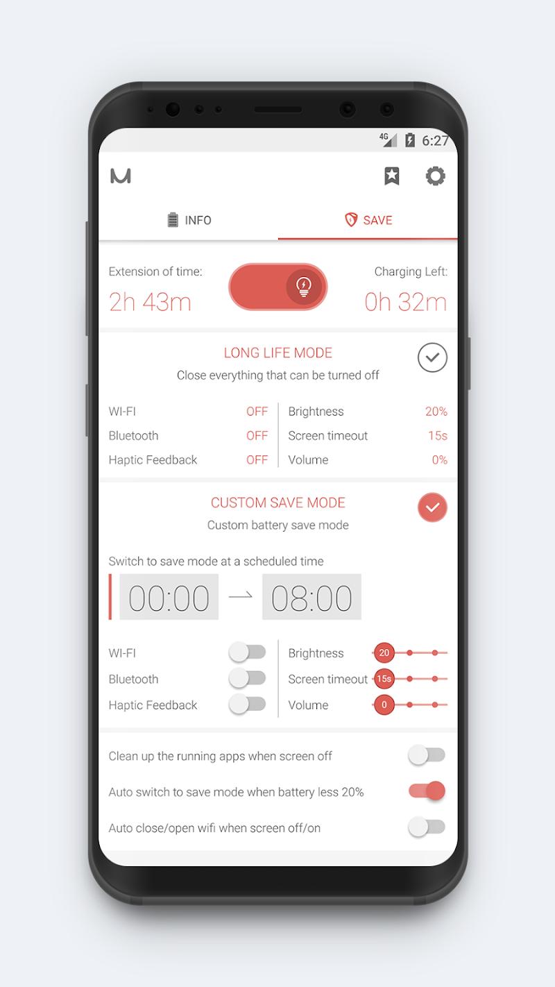 Battery Manager (Saver) Screenshot 2