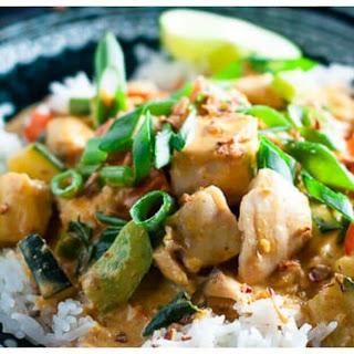 Fish Penang Curry.