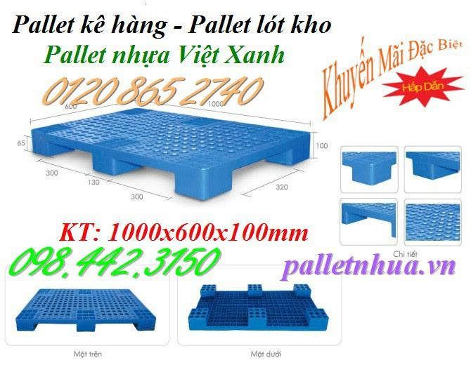 Pallet 1000x600x100mm