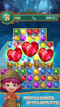 Jewels Adventure : Match 3 puzzle