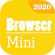 Download Browser Mini 2020: Light & Fast - Speed Browser 4G For PC Windows and Mac