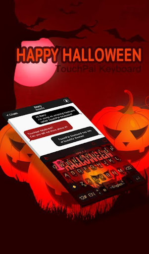玩免費生活APP|下載Happy Halloween Keyboard Theme app不用錢|硬是要APP
