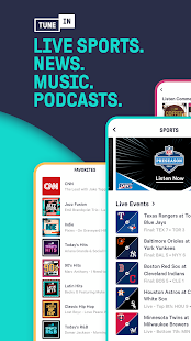 TuneIn - NFL Radio, Free Music, Sports & Podcasts Screenshot
