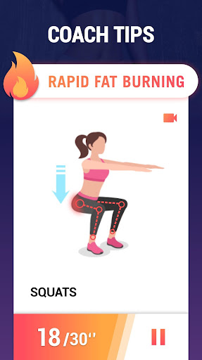 Fat Burning Workouts - Lose Weight Home Workout 1.0.10 Screenshots 20