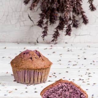 Lavender Muffins.