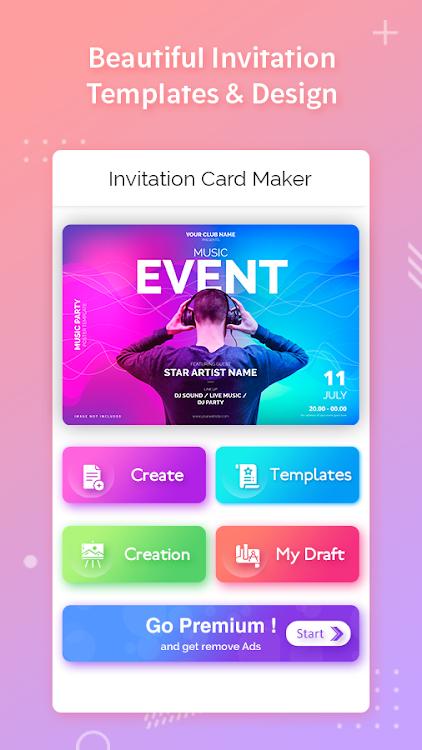 Invitation Maker Invitation Card Maker Android Apps