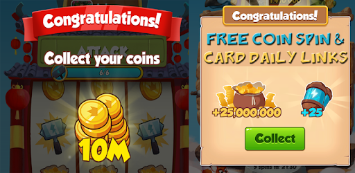Free Coin Spin Daily Link for PC