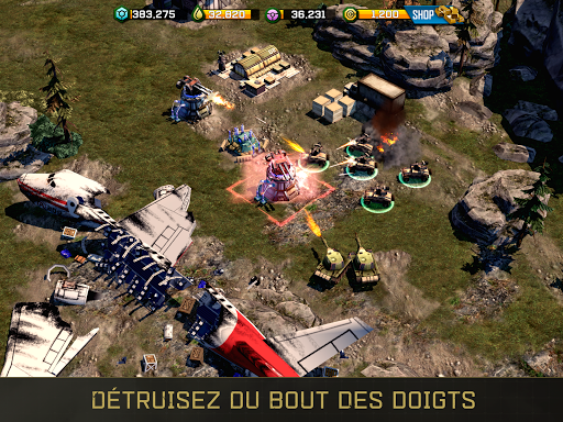 War Commander: Rogue Assault  captures d'écran 1