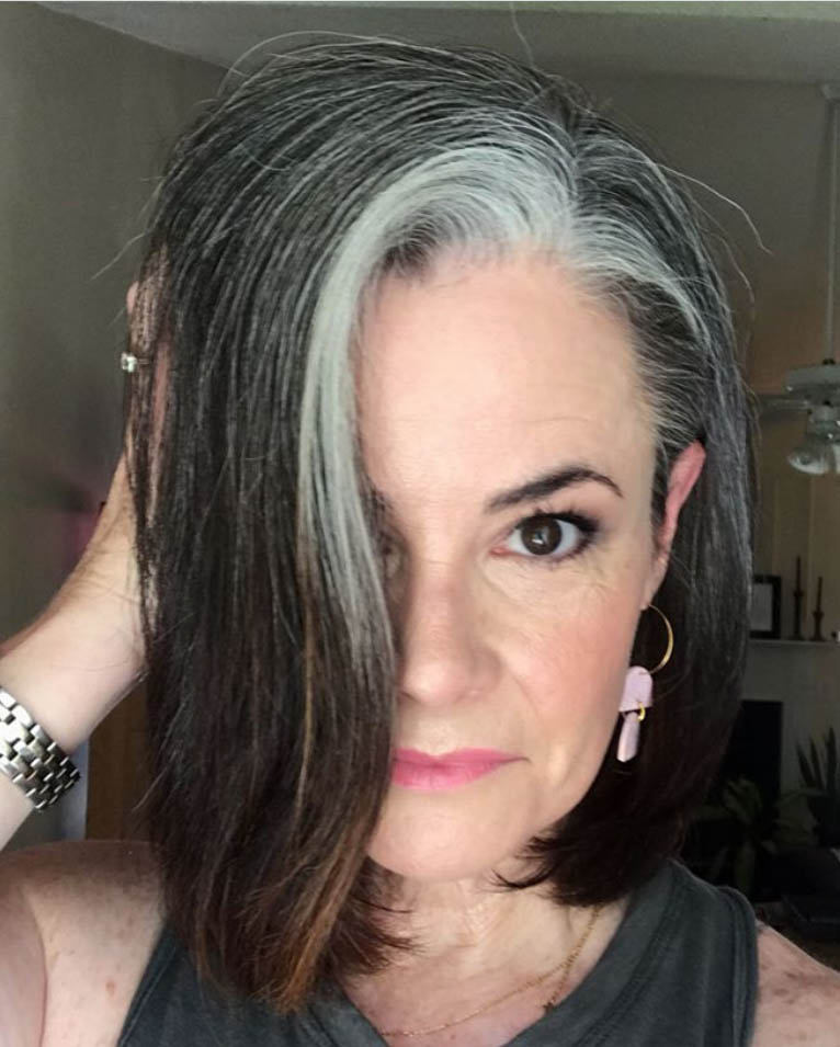 25 Women Going Gray Gracefully Who Will Inspire You to Quit Dying Your Hair 7