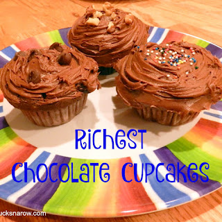 Velvety Rich Chocolate Cupcakes Made With Cake Mix