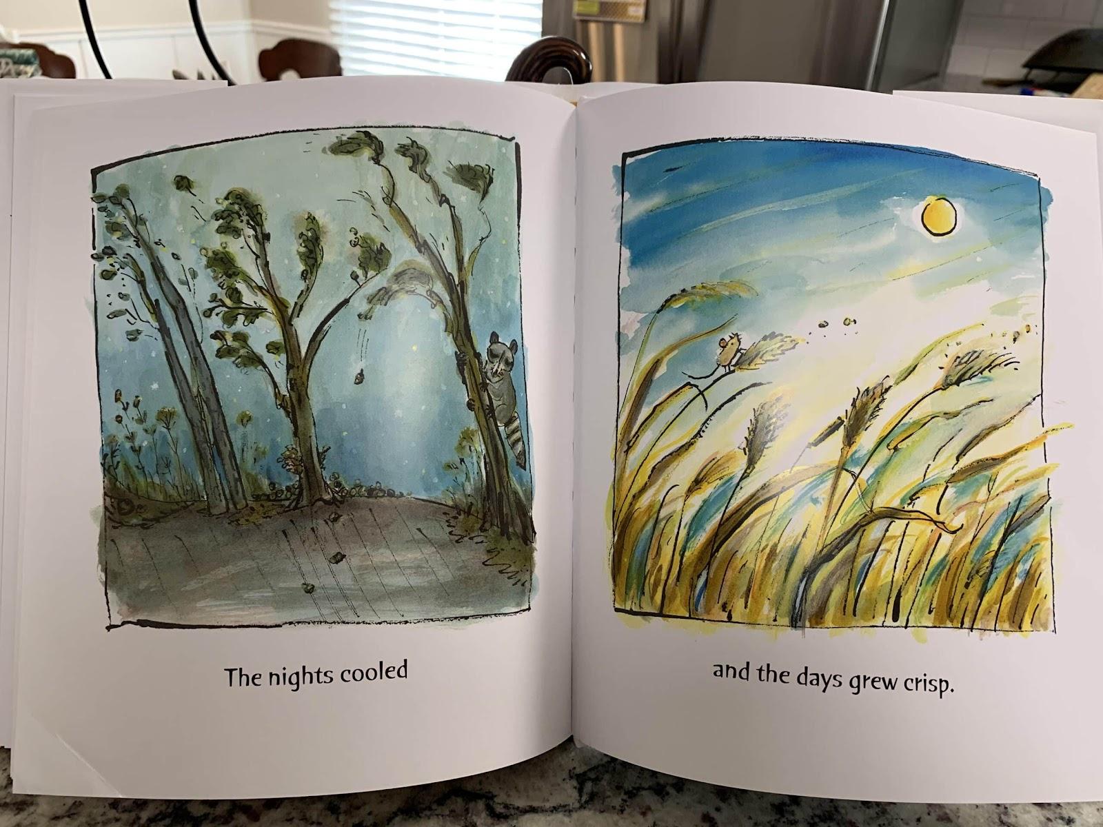 honey best children's picture books for fall
