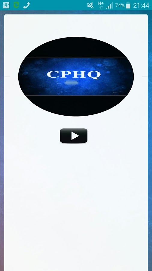 CPHQ- screenshot