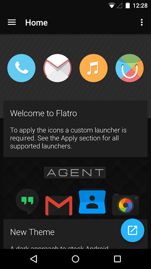 Flatro - Icon Pack- screenshot