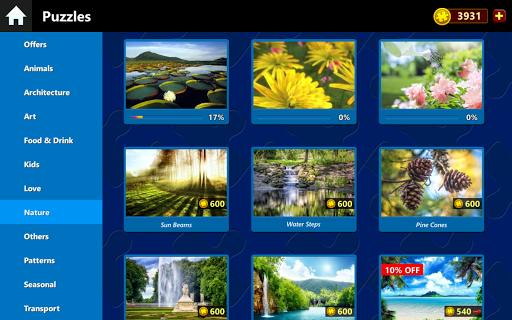 Jigsaw Puzzles Box - 1000 piece puzzles.  captures d'écran 1