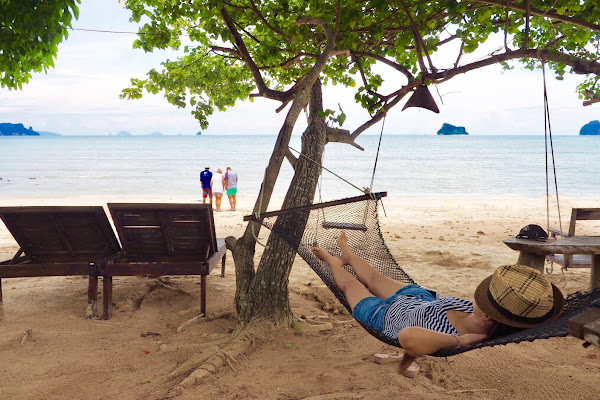 Beach time on Koh Yao Noi after lunch