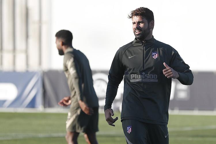 Le bel hommage de Simeone à Diego Costa