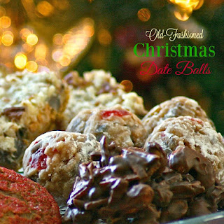 Old-Fashioned Christmas Date Ball Cookies Recipe