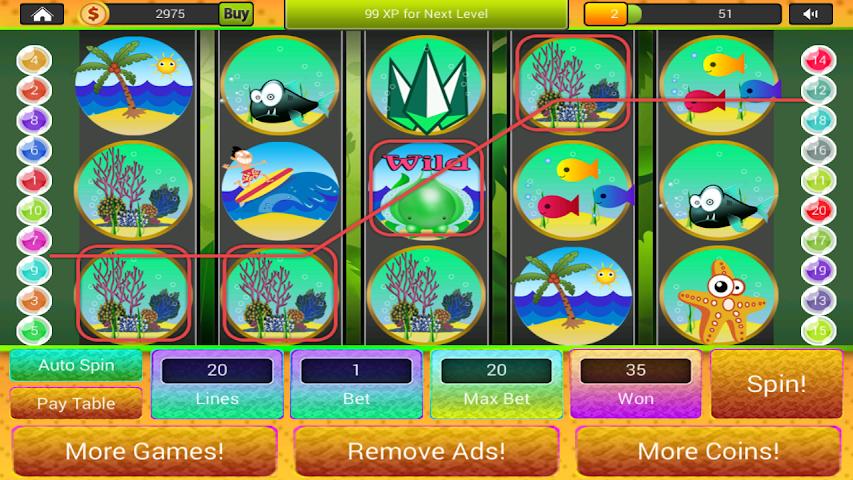 Fishy slots android