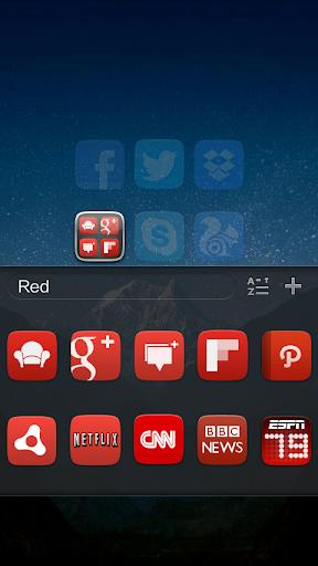 GO Launcher EX UI5.0 theme screenshot 5