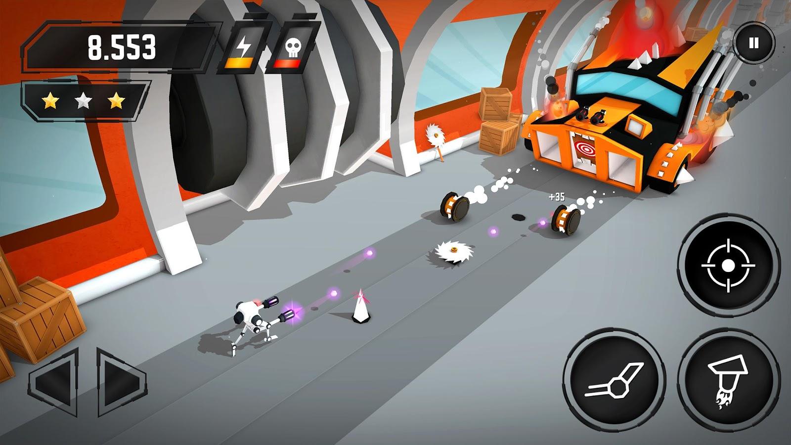 Crashbots – zrzut ekranu