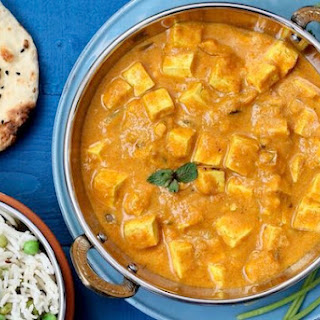 Mango Curry Tofu From Vegan Richa'S Indian Kitchen Recipe