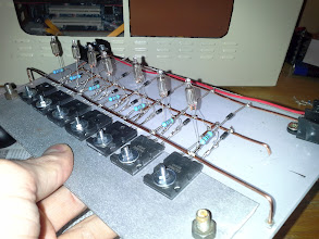 Photo: Once I had the diodes ... Soldered the NE-2 then the resistor ... and repeated the procedure  You like it ? :P  I decided to do this layout to be it as much understandable as possible