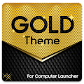 Gold Theme for Computer Launcher APK