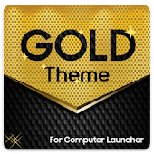 Gold Theme for Computer Launcher