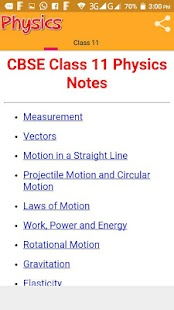 Class 11 Physics Notes- screenshot thumbnail