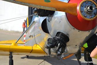 Photo: Le moteur du PT22 est un Kinner R540 5 cylindres en étoile de 160 cv.