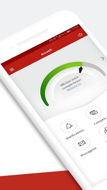 L'Appli Société Générale Android App Screenshot