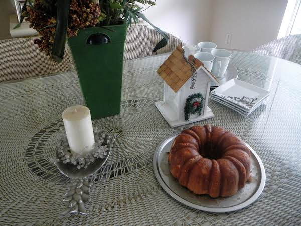 Colongo's Crispy Coated Pound Cake Recipe