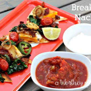 Hearty Protein Packed Breakfast Nachos