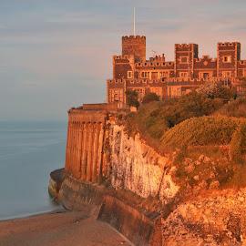 Kinsgate by Paul Trindall - Buildings & Architecture Public & Historical ( building, sea, long exposure, castle, seascape )