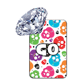 GO KB SKIN - Skull Diamonds 3