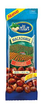 PASABOCAS DEL ALBA   MACADAMIA CARAMELIZADA X 30 GR