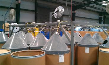 Photo: Wiring Barrels