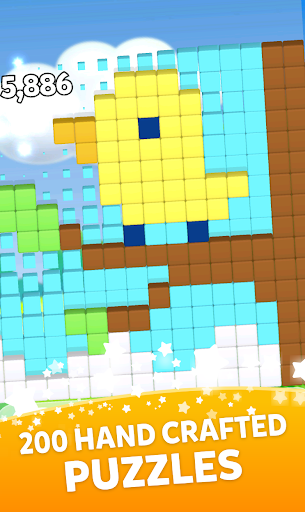 Break The Blocks! Collapse Puzzle Gallery 1.174 MOD APK screenshots 1