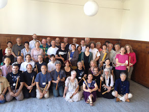 Photo: Participants at the robuki the last day of the Summer School!