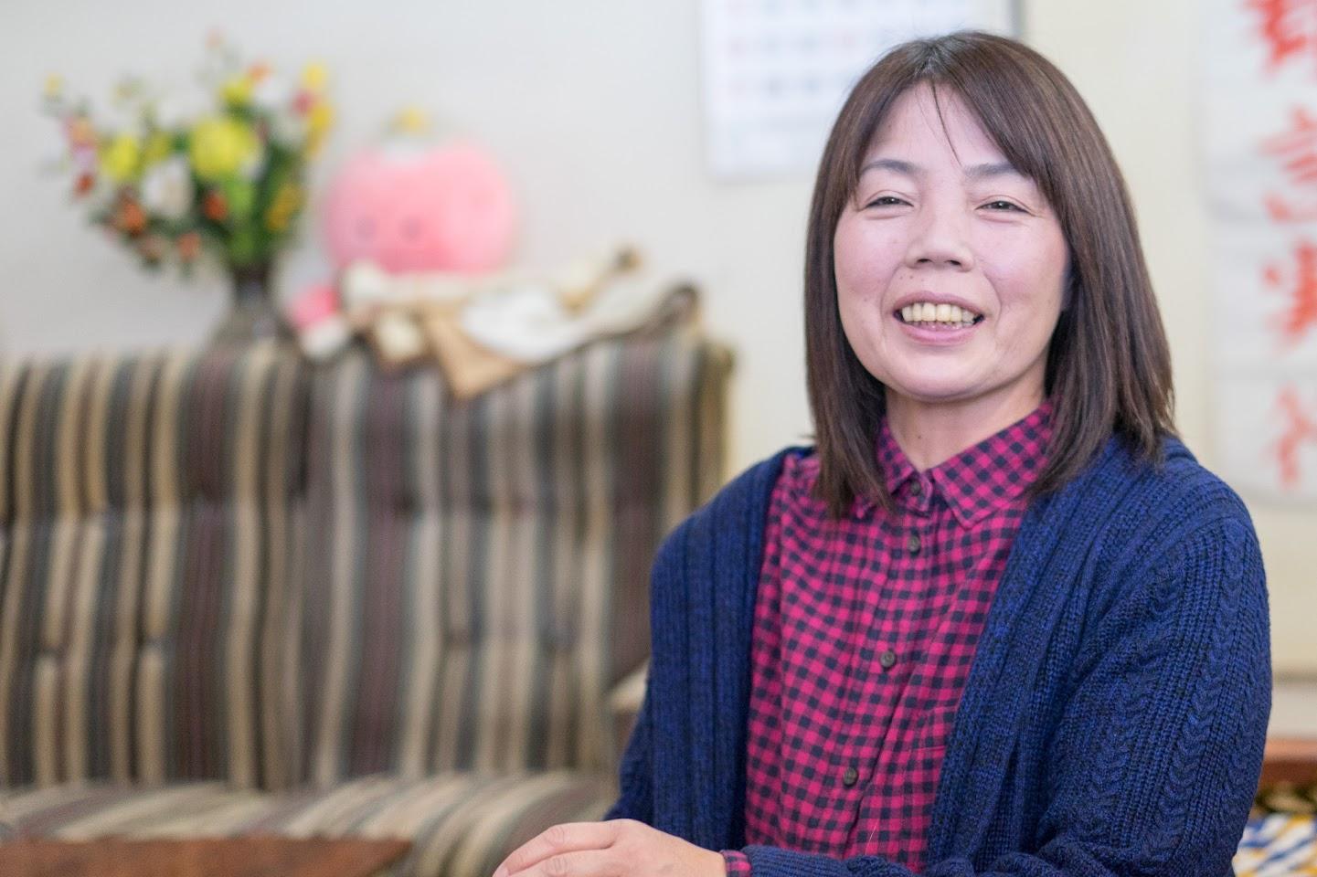鵜飼喜美子さん
