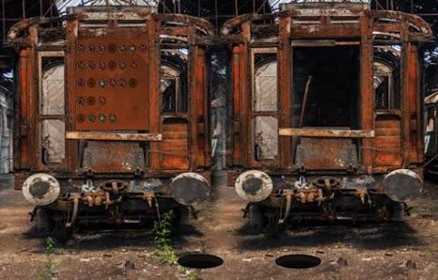 Escape Games Train Garage - náhled