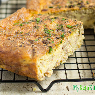 Easy Low Carb Beef Breakfast Casserole Recipe